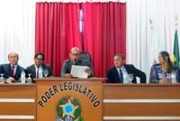 Cerimônia de posse do prefeito, vice prefeito e vereadores de Buritis