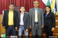 Mesa Diretora da Câmara de Vereadores para o ano de 2016