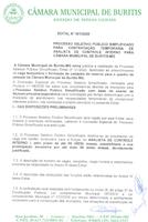 Processo Seletivo 01 /2020 Analista de controle interno I