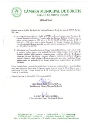 Termo de Posse 20192