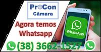 Whatsapp Procon Câmara Buritis MG